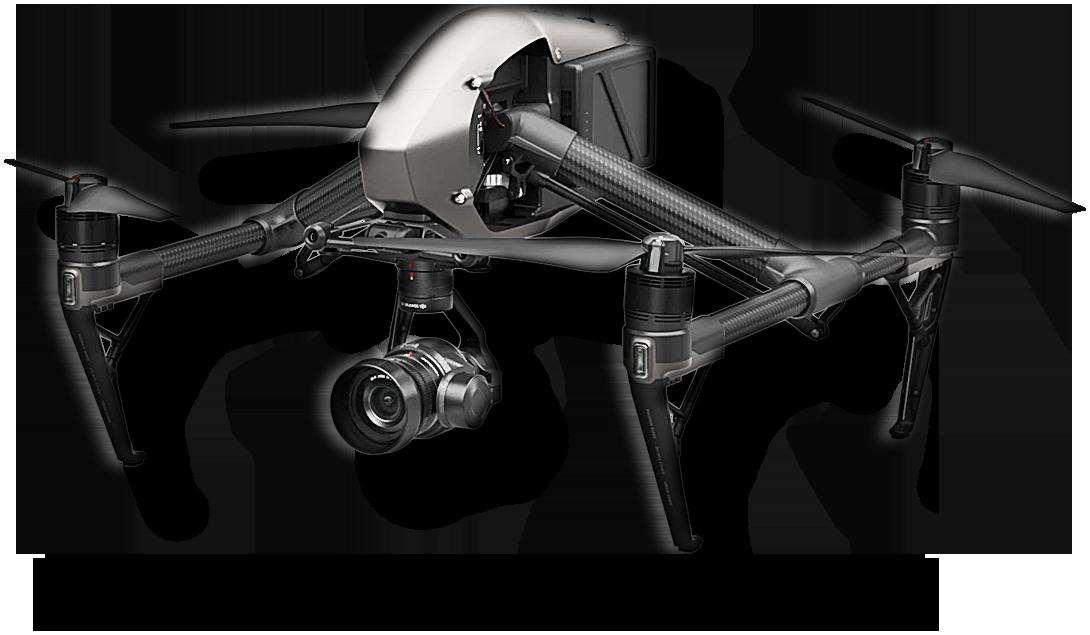 Profesionální letecké práce realizované drony